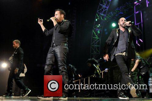 Howie Dorough and A. J. McLean of Backstreet...