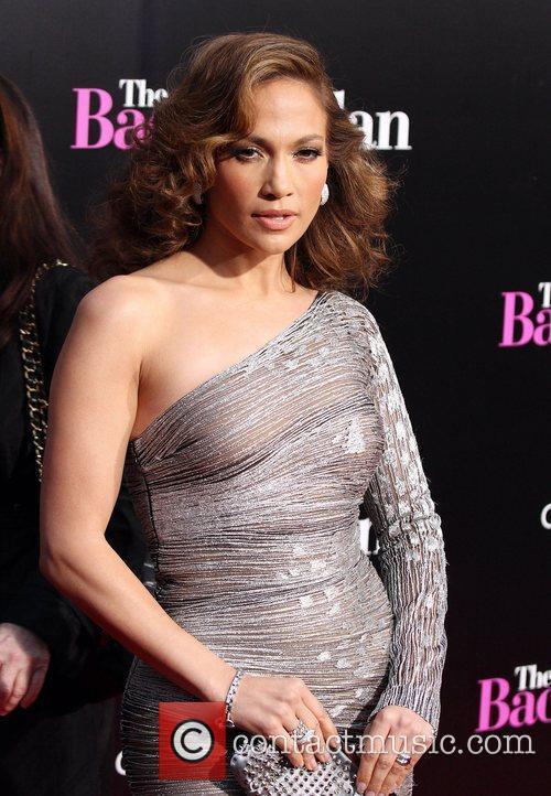 Jennifer Lopez Los Angeles premiere of 'The Back-Up...