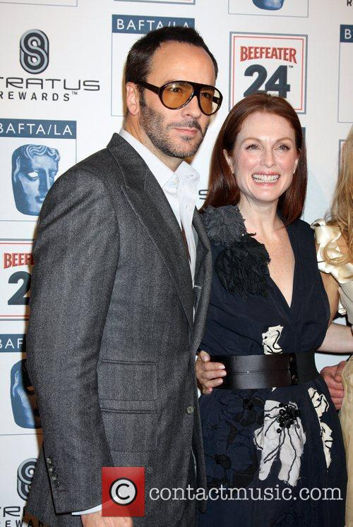 Julianne Moore and Tom Ford 4