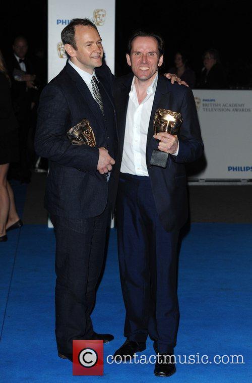 Alexander Armstrong and Ben Miller Philips British Academy...