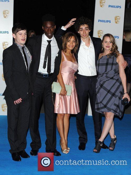 Cast of 'Misfits' Nathan Stewart, Antonia Thomas, Robert...