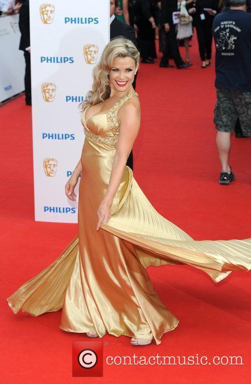 Melinda Messenger Philips British Academy Television Awards 2010...