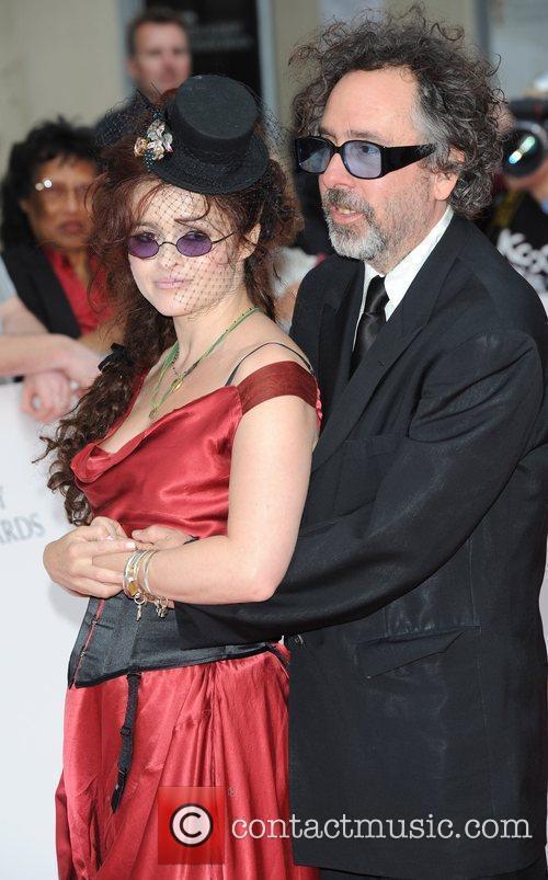 Helena Bonham-Carter and Tim Burton Philips British Academy...