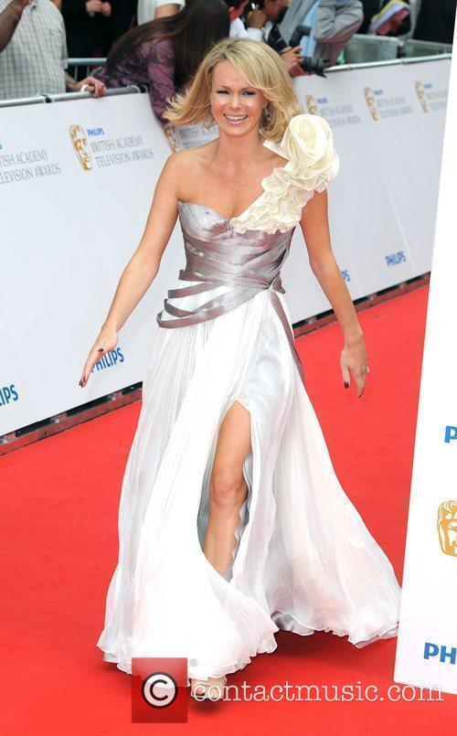 Amanda Holden Philips British Academy Television Awards 2010...
