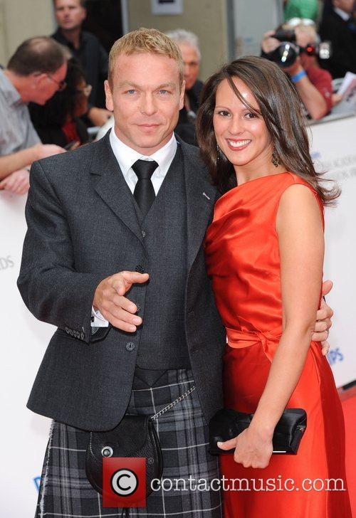 Chris Hoy and Jis Wife Sarra Kemp 2