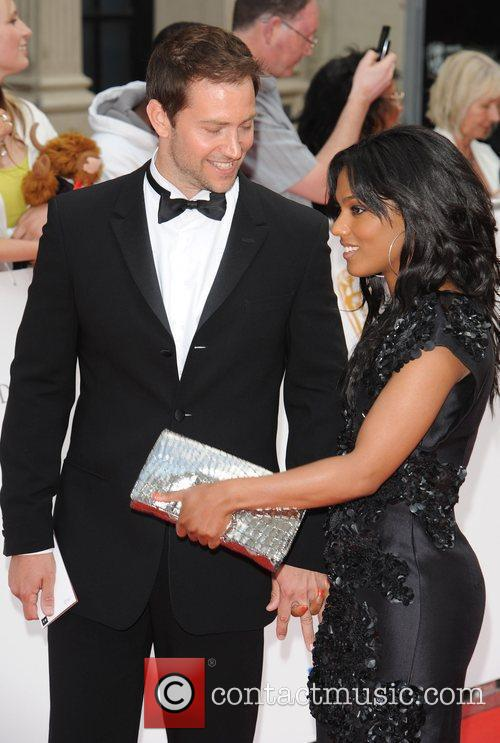 Freema Agyeman with former partner Luke Roberts