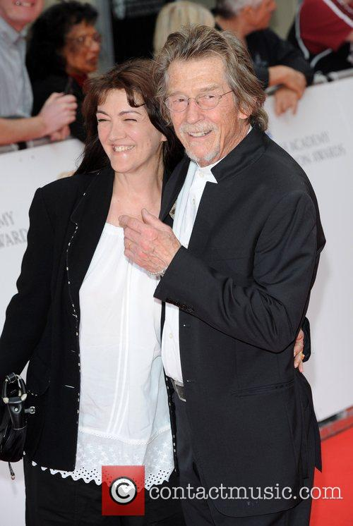 John Hurt and guest Philips British Academy Television...