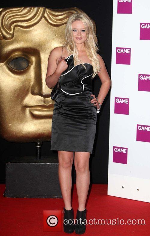 Emily Atack BAFTA Video Games Awards at London...