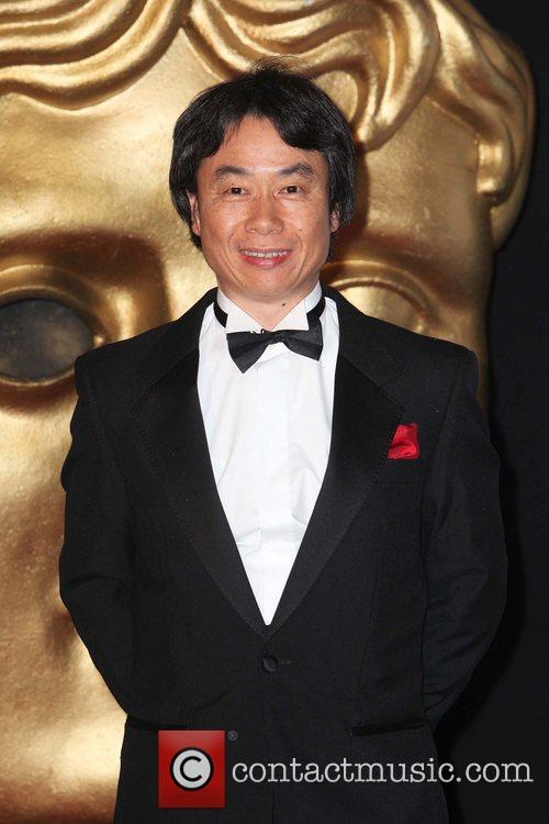 Shigeru Miyamoto  BAFTA Video Games Awards at...