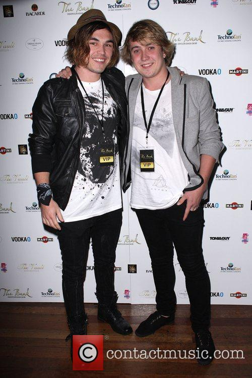Finalists from the television series 'X Factor'...