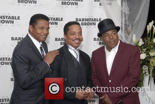 Jackie Jackson, Marlon Jackson and Tito Jackson 11