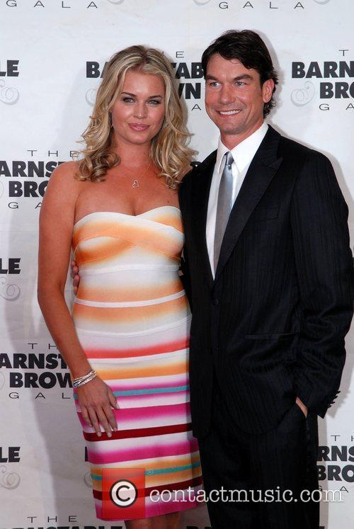 Jerry O'connell and Rebecca Romijn 2
