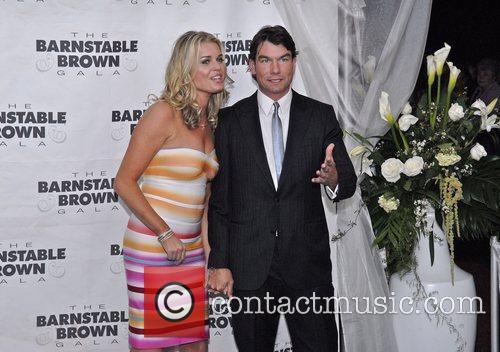 Jerry O'connell and Rebecca Romijn 1