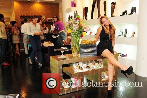 Evelyn Lozada Dulce Shoe Boutique 1st Anniversary hosted...