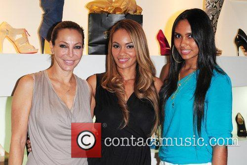 Lisa Pliner Evelyn Lozada and her daughter Shaniece...
