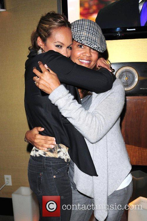 Evelyn Lozada and Tracy Wilson Mourning VH1 'Basketball...