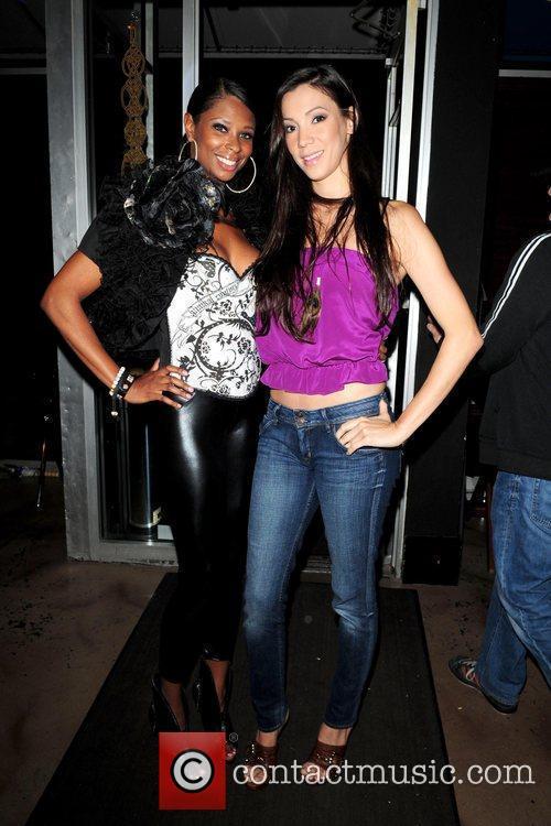 Jennifer Williams and Suzie Ketcham  VH1 'Basketball...