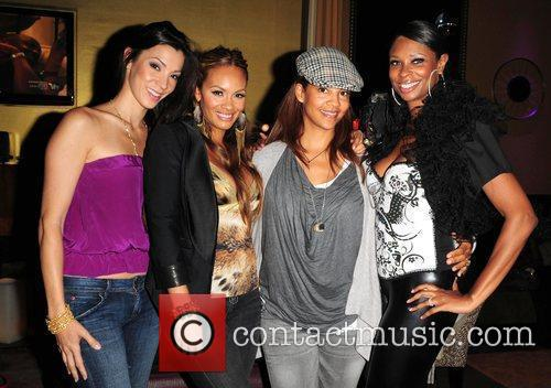 Suzie Ketcham, Evelyn Lozada, Tracy Wilson Mourning and...