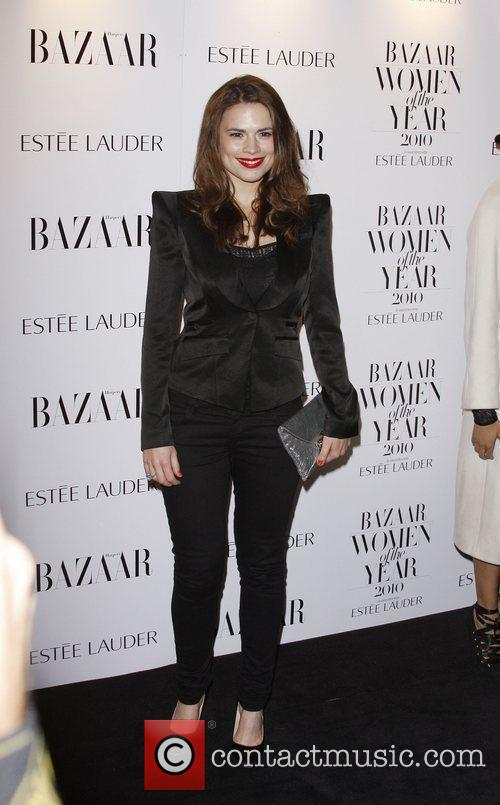 Hayley Atwell Harper's Bazaar Woman of the Year...