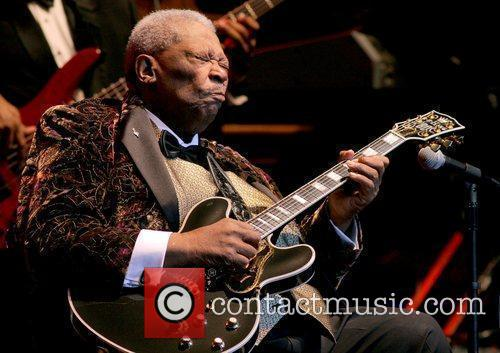 B.B. King  performs at The Hard Rock...