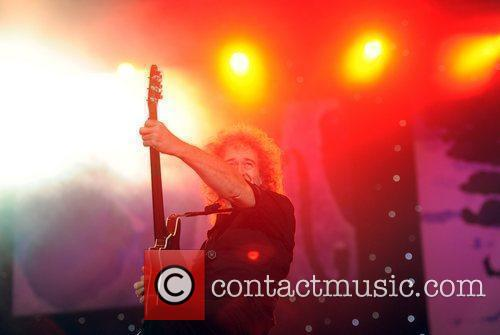 Brian May BBC Proms In The Park held...