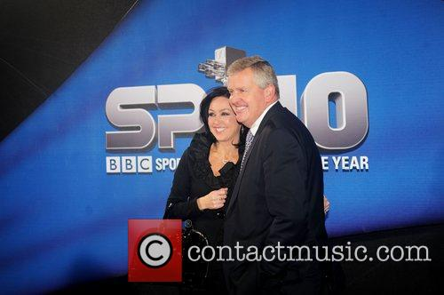 Colin Montgomerie and Gaynor Knowles BBC Sports Personality...