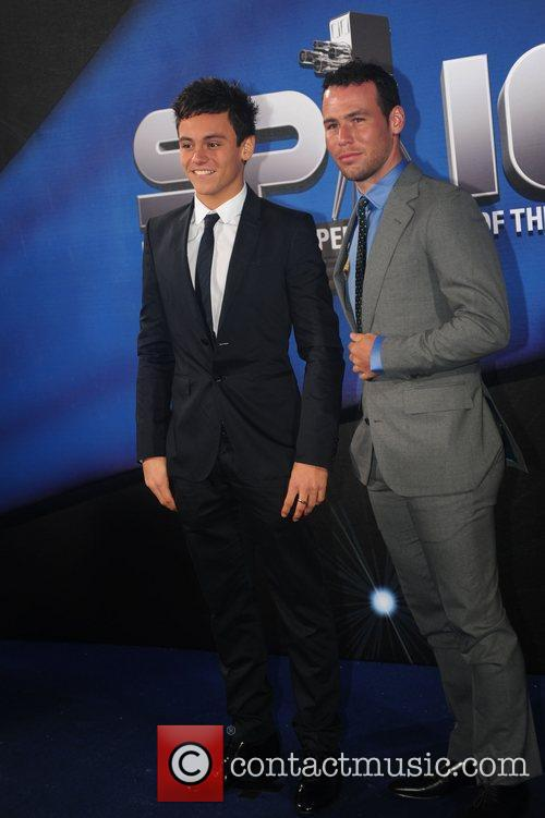 Tom Daley and Mark Cavendish BBC Sports Personality...