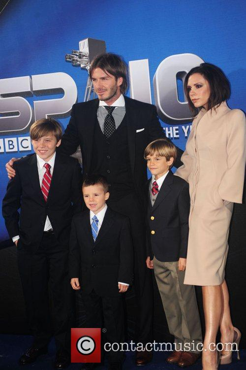 Victoria Beckham and Brooklyn 2
