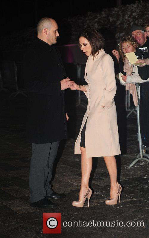 Victoria Beckham arrives at the BBC Sports Personality...