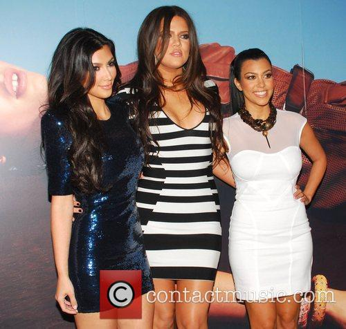Kim Kardashian, Khloe Kardashian and Kourtney Kardashian Grand...