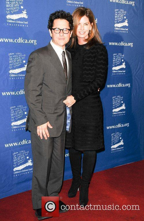 Jj Abrams and Katie McGrath 2