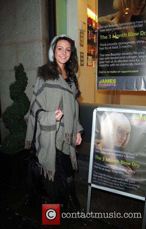 Michelle Keegan James Roberts 'Hair and Beauty' salon...