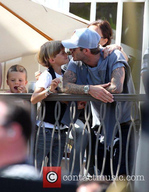 David Beckham and Jonas Brothers 6