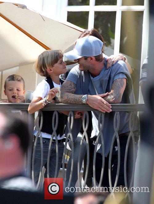 David Beckham and Jonas Brothers 5