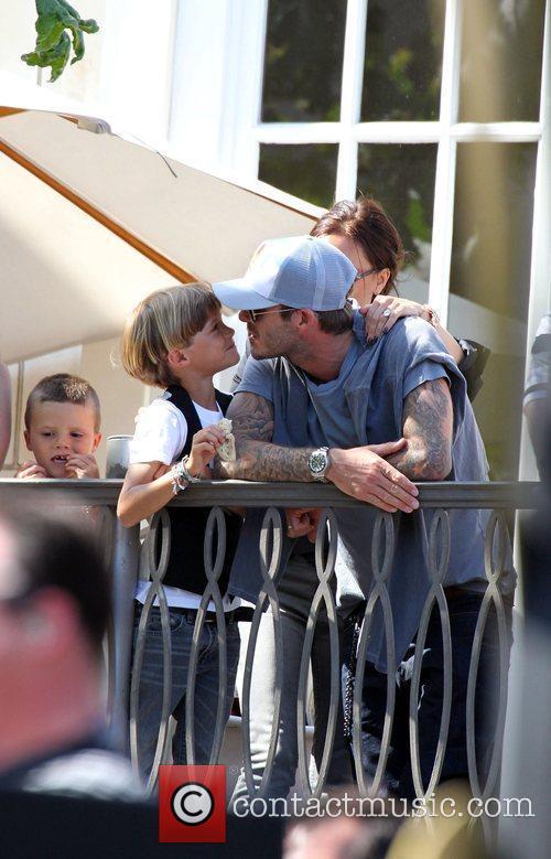 David Beckham and Jonas Brothers 3