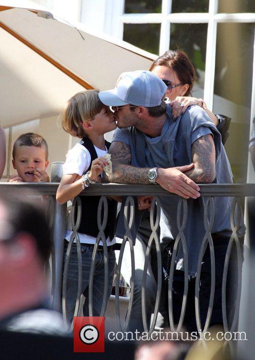 David Beckham and Jonas Brothers 7