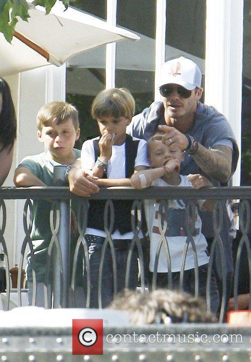 David Beckham and Jonas Brothers 9