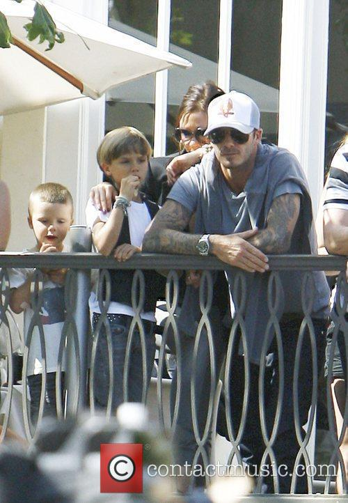 David Beckham and Jonas Brothers 10