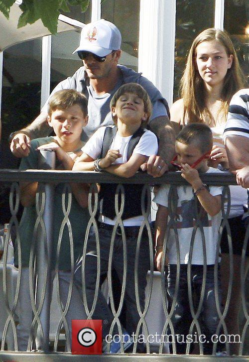 David Beckham and Jonas Brothers 11