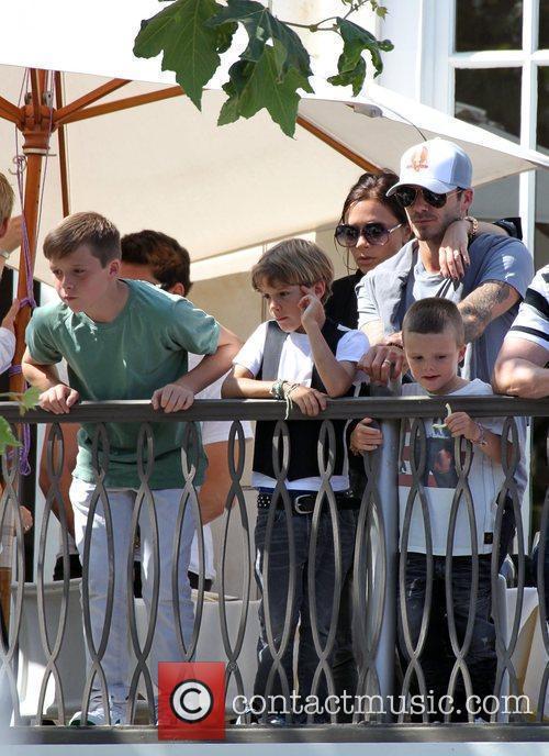 David, Jonas Brothers and Victoria Beckham 13