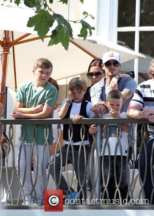 David, Jonas Brothers and Victoria Beckham 12