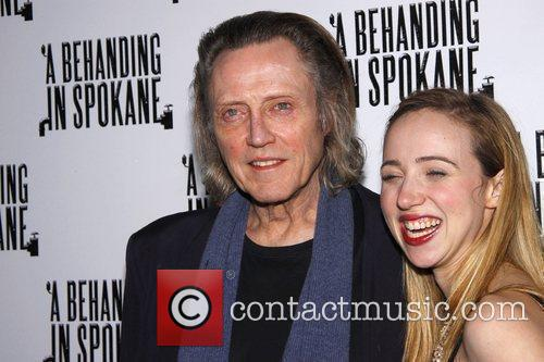 Christopher Walken and Zoe Kazan 5