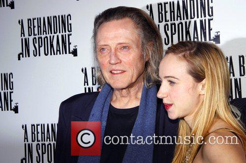 Christopher Walken and Zoe Kazan 4