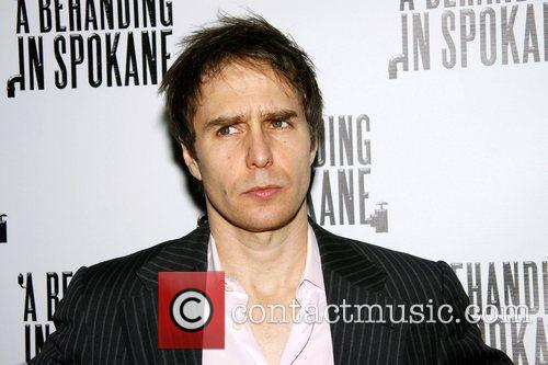 Sam Rockwell at the opening night after party...
