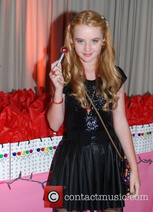 Kathryn Newton Bella Thorne celebrates her 13th birthday...