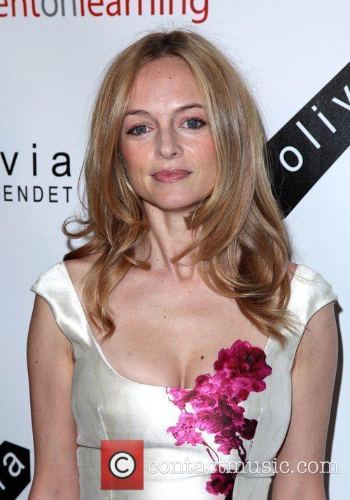 Actress Heather Graham 2nd Annual Bent on Learning...