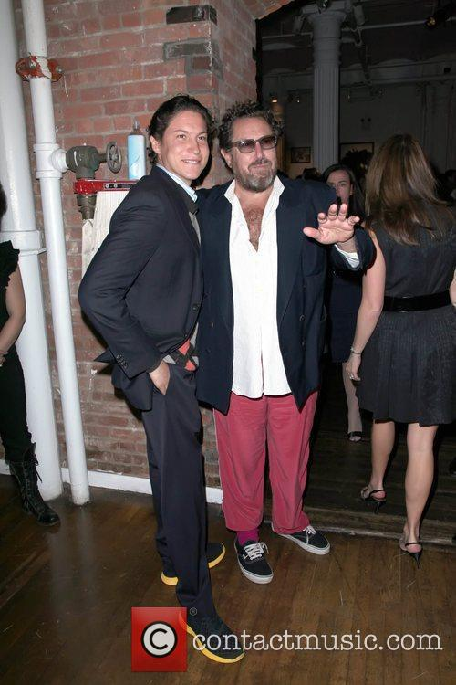 Julian Schnabel and guest 2nd Annual Bent on...