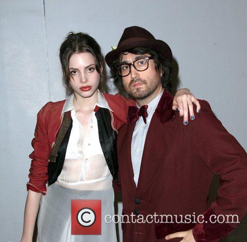 Sean Lennon and girlfriend Charlotte Kemp Muhl 2nd...
