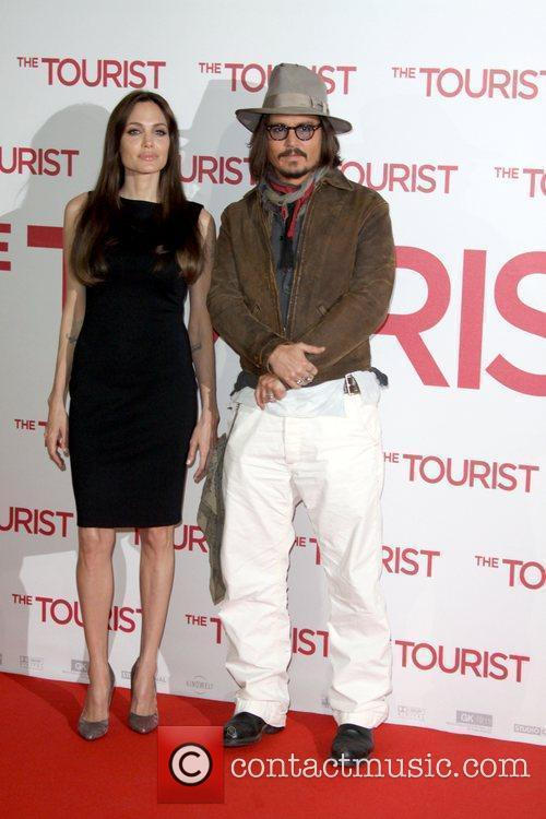 Angelina Jolie, Berlin and Johnny Depp 7