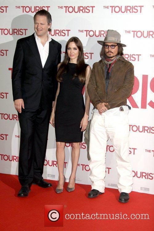 Angelina Jolie, Berlin and Johnny Depp 5